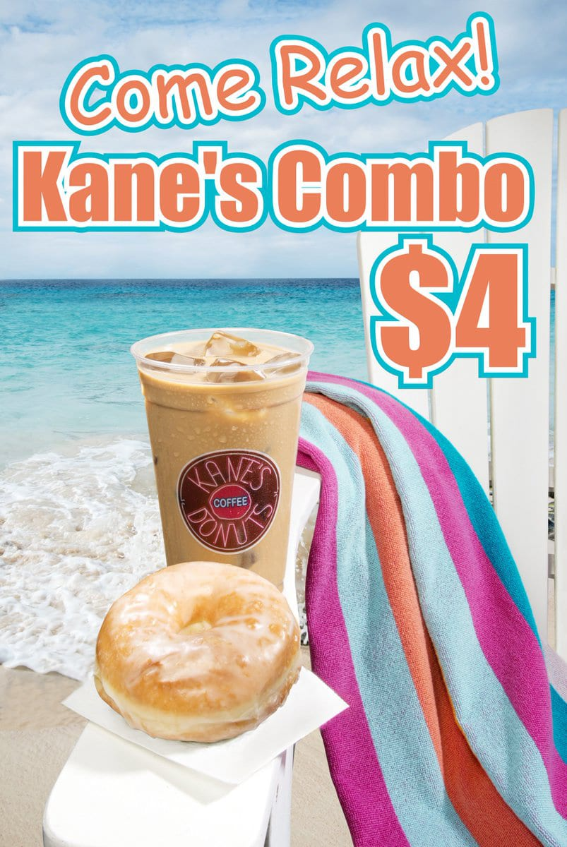 Kane's Donuts Summer Promotion